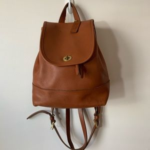 Coach Large Leather Day Pack